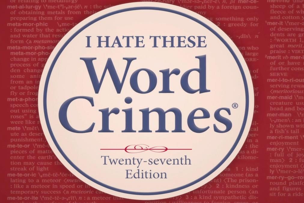 Word Crimes