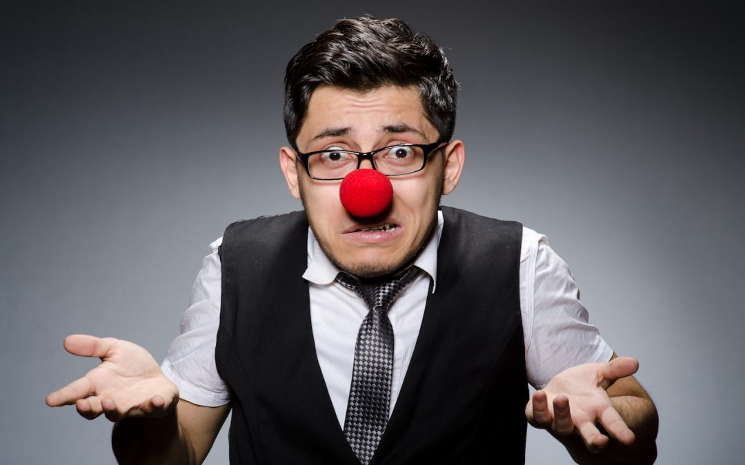Are You Letting a Free Email Address Make a Clown Out of You and Your Business?